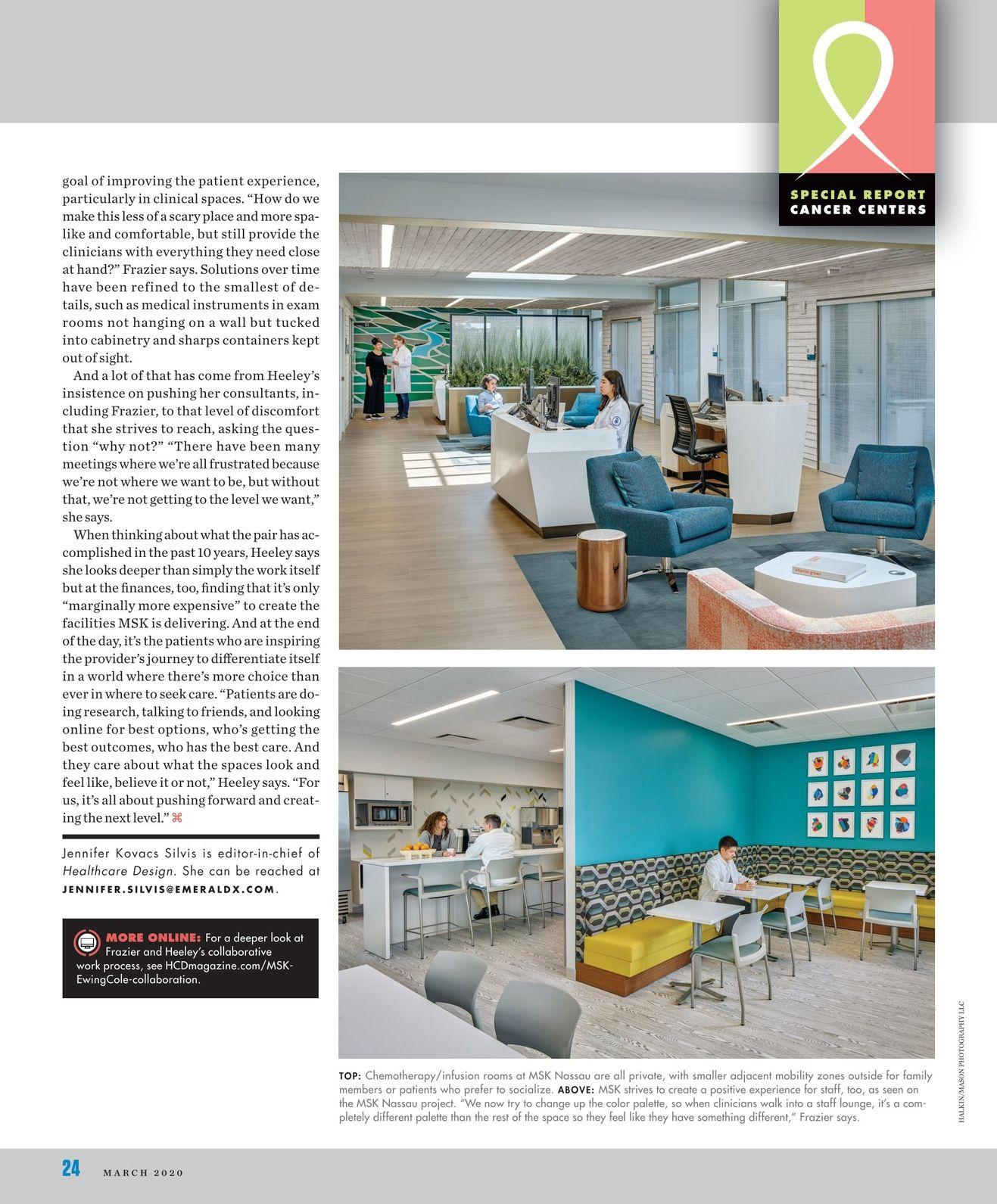 Healthcare Design March 2020 24 25 In 2020 Healthcare Design Health Care Design