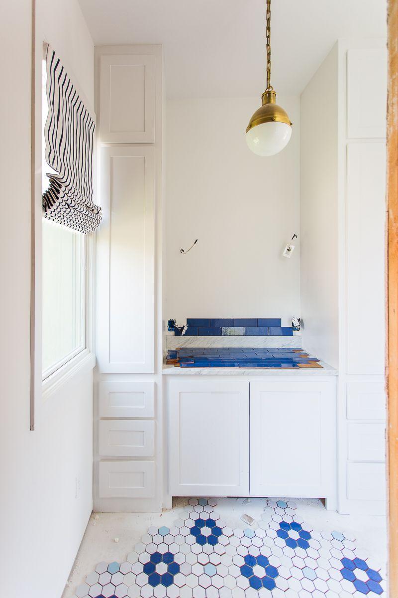 Master Bathroom: Tile Install | Bloggers\' Best Color Inspiration ...