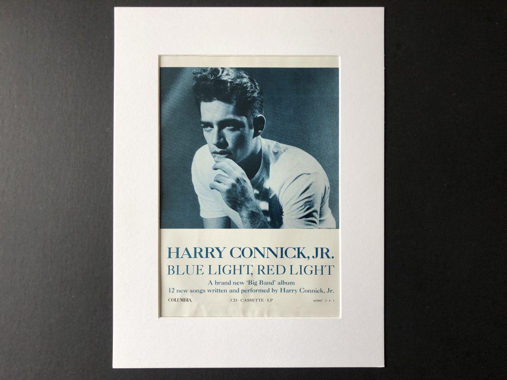 Harry connick jr blue light red light mini poster m10