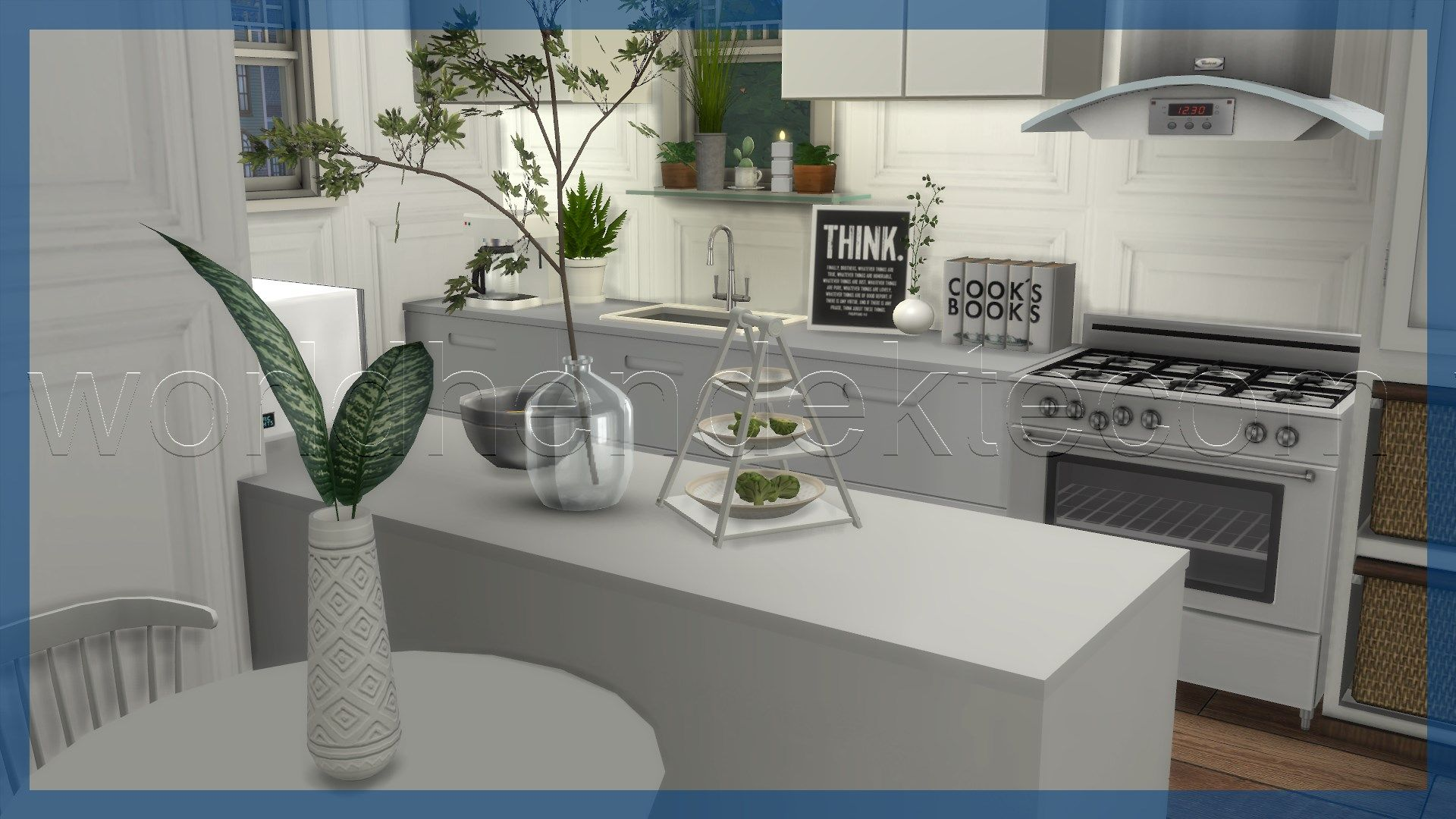 new trend in home decor | Sims 4 kitchen, Rustic kitchen ...