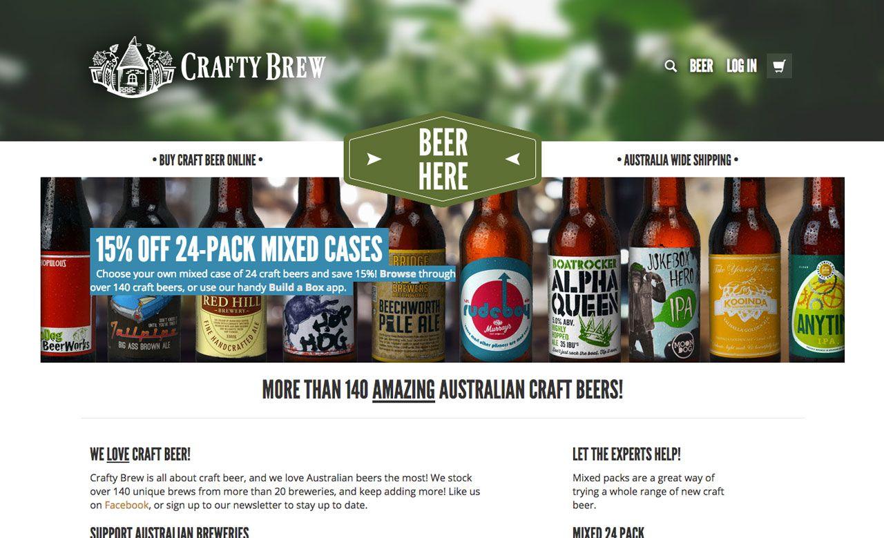 The Five Best Online Bottle Shops For Craft Beer In Melbourne Craft Beer Bottle Shop Beer