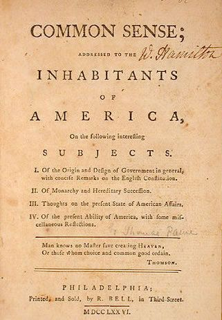essay on common sense and the declaration of independence