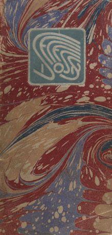 Cover. Vienna Secession exhibition catalog. XI Exhibition, May 18-June 1901. Neue Galerie. #viennasecession