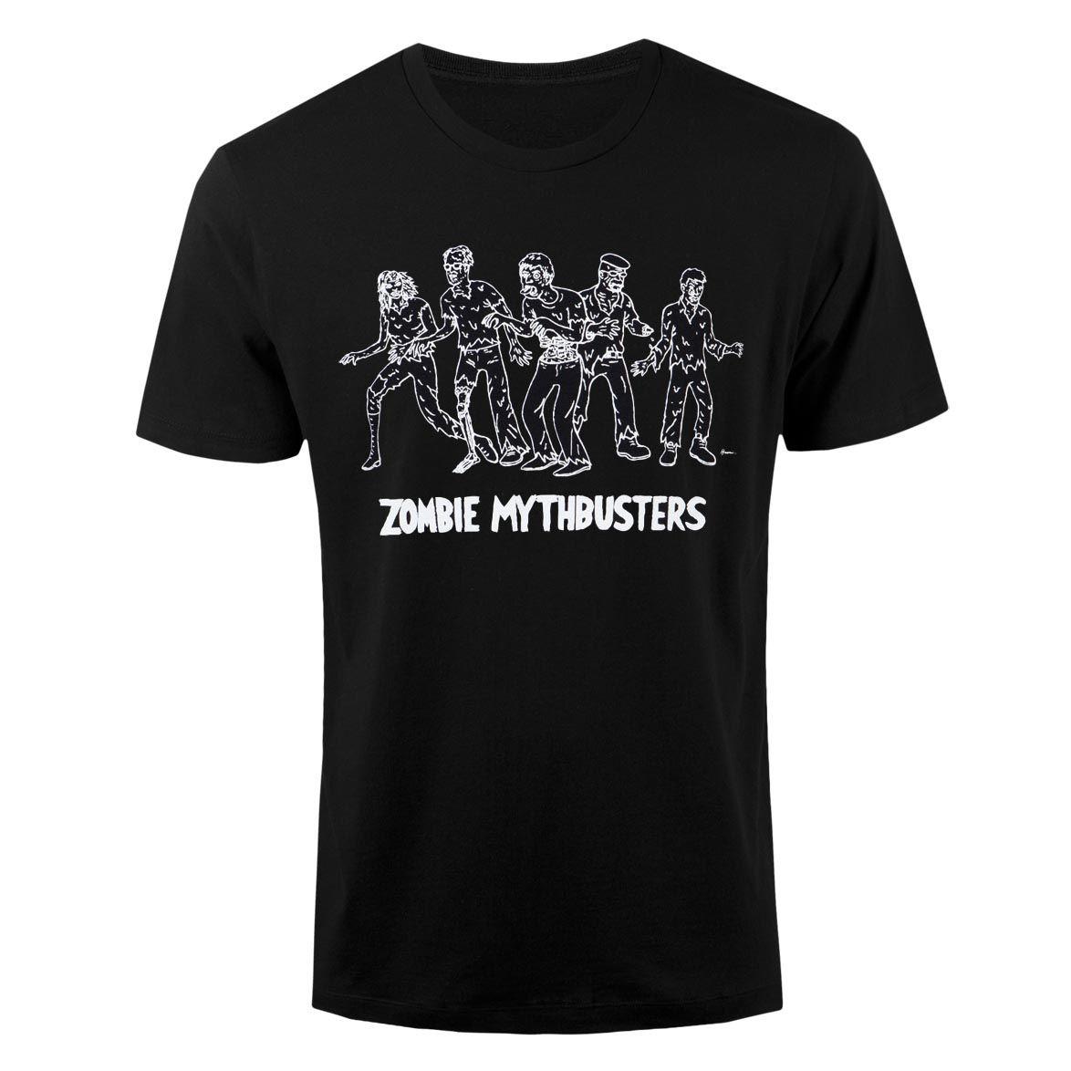 MythBusters Zombie T-Shirt - Black