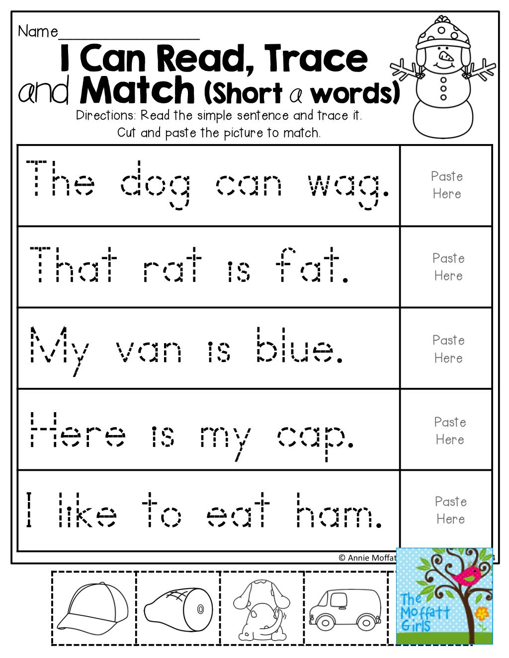 2309ec521c7e036673a1278876b183f4 - Reading Kindergarten Worksheets