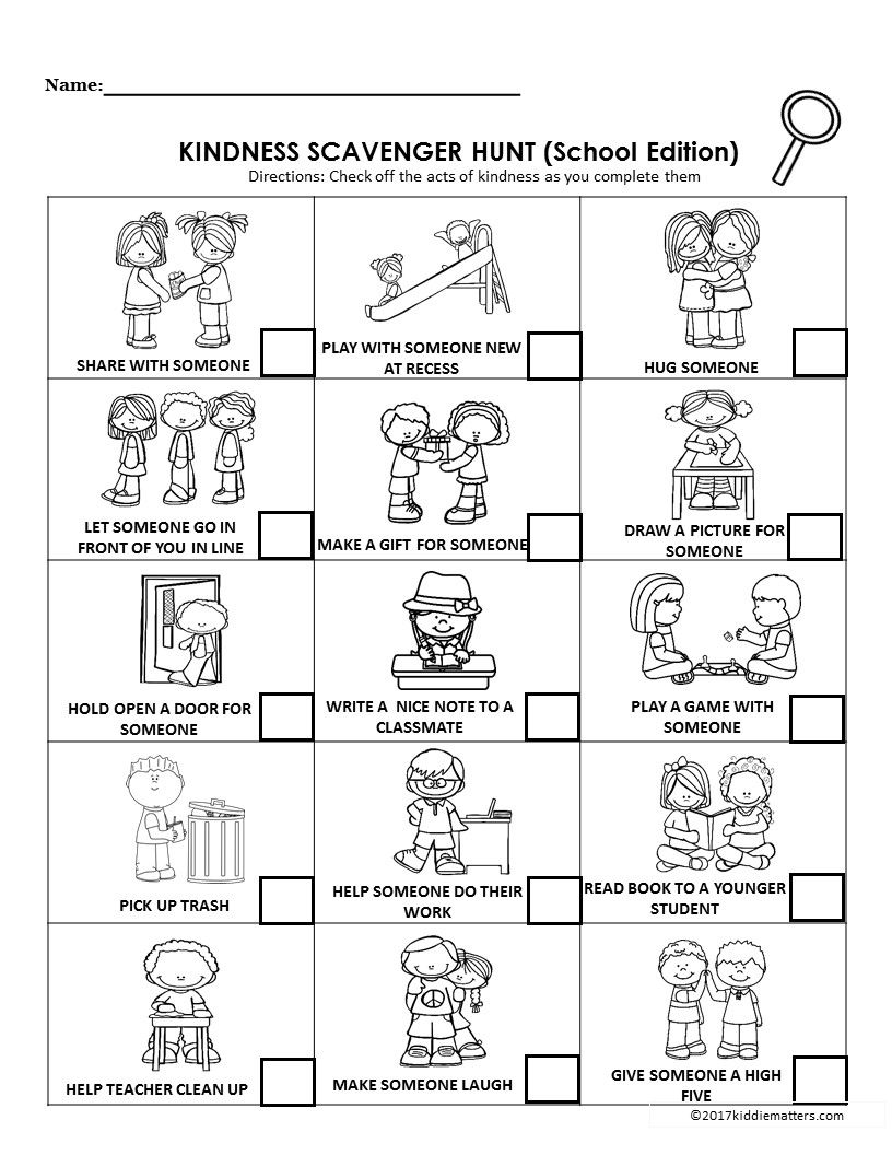 Teach kids how to be kind with these fun kindness