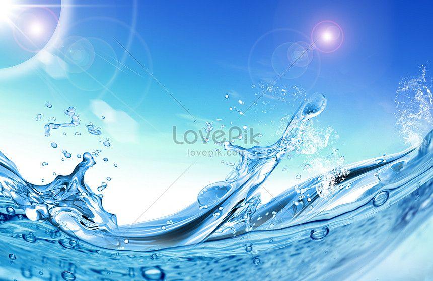 خلفية دفقة ماء الصيف Water Summer Water Background