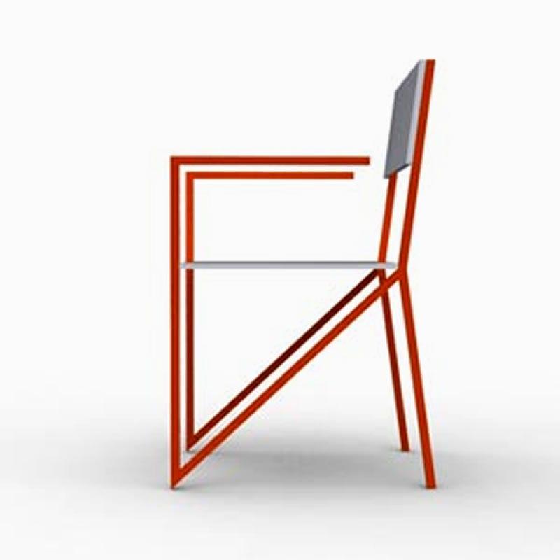 Ergonomic Chair Ultra Modern Seating Furniture Design Alpha JDD UK