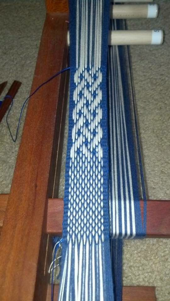 Crafty Gal's Spot: How to: Basket weave Technique and Celtic Knot for the Inkle Loom More