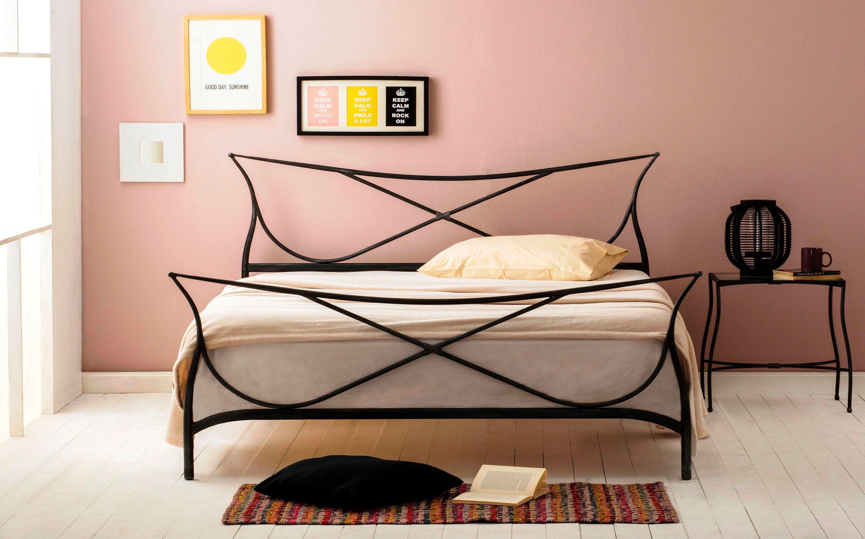 Minimalist version Handmade iron bed Model