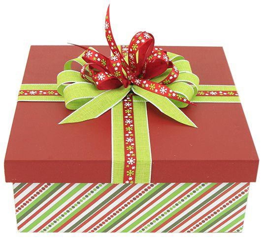 Caja de madera regalo navidad 2014 adorno for Decoracion de cajas