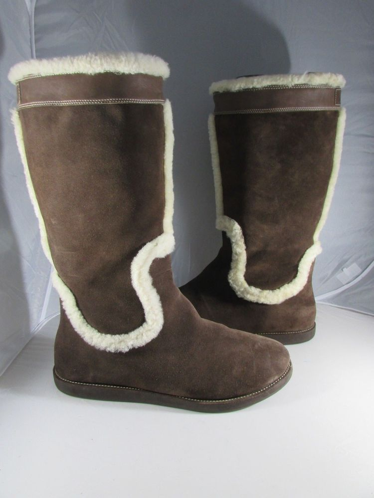 232ca96f33aa Cole Haan Pull On Shearling Boots - Size 11 for Women  fashion  clothing   shoes  accessories  womensshoes  boots (ebay link)
