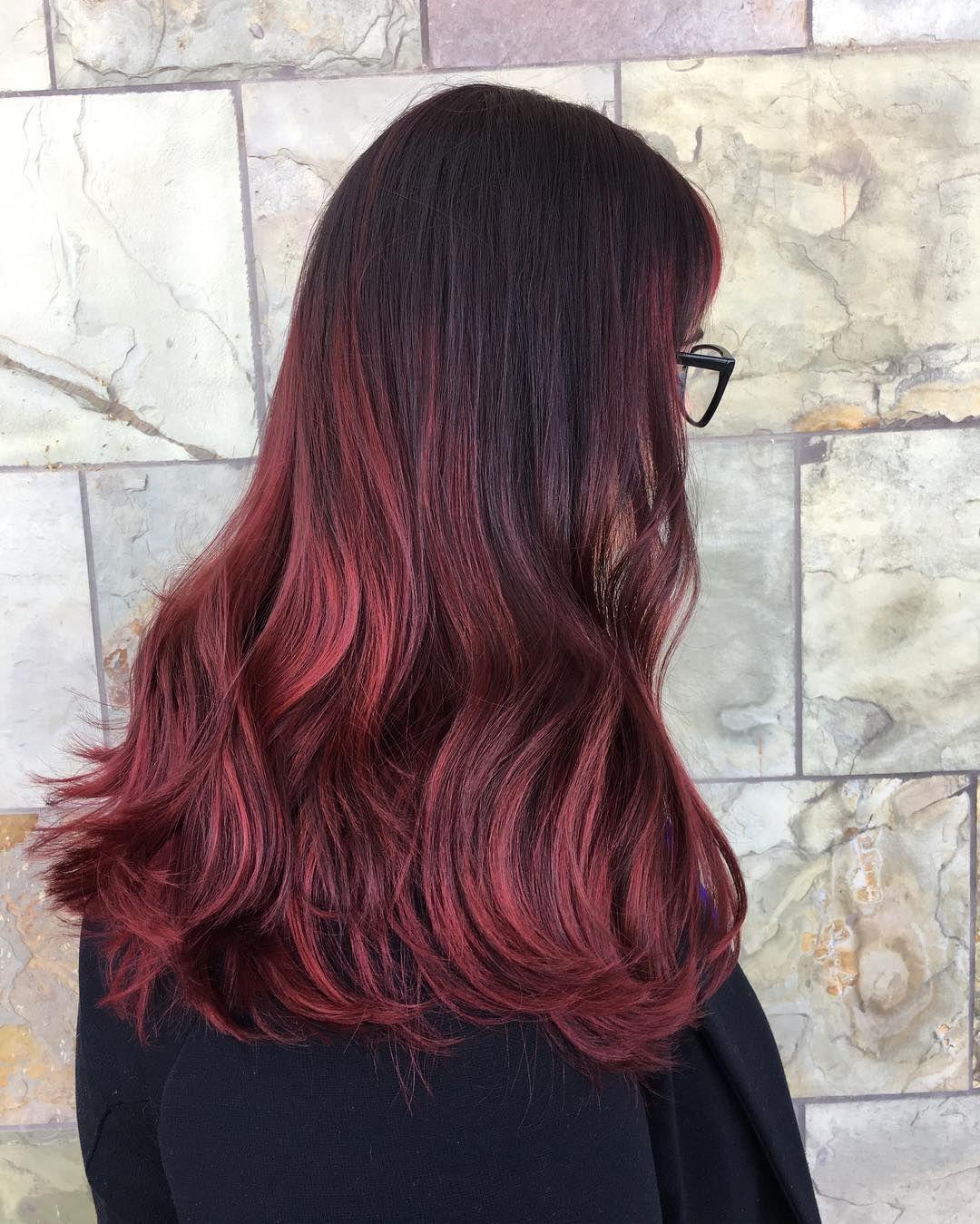 Cherrybomb Hair By Amanda Instagram Mandas So Fetch Works At The Rose Hair Studio Rose Hair Hair Studio Hair