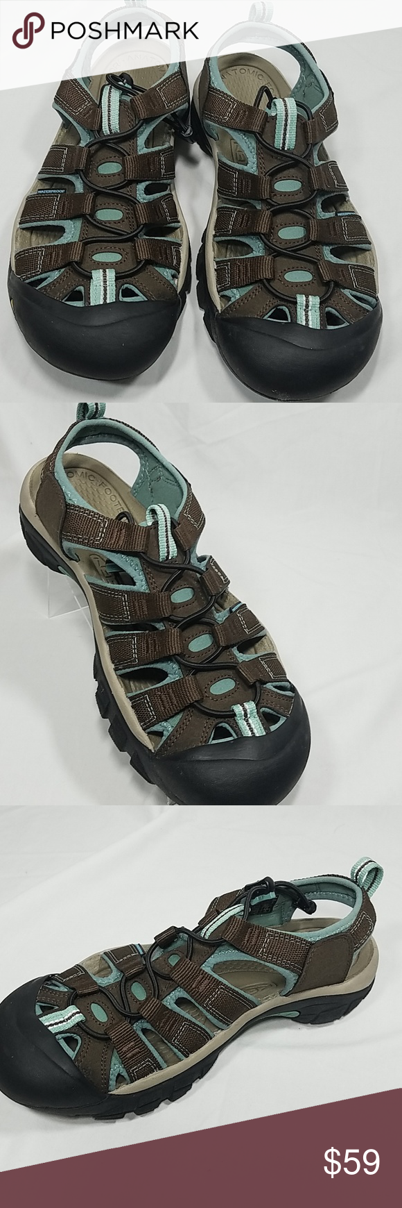 c77a5129da1fe NWOT KEEN Original Sport Sandal Newport H2 Sz 8M New without tags - unworn.  Great sandal from KEEN - Newport H2 Color  Brown  Gray Cut-out design
