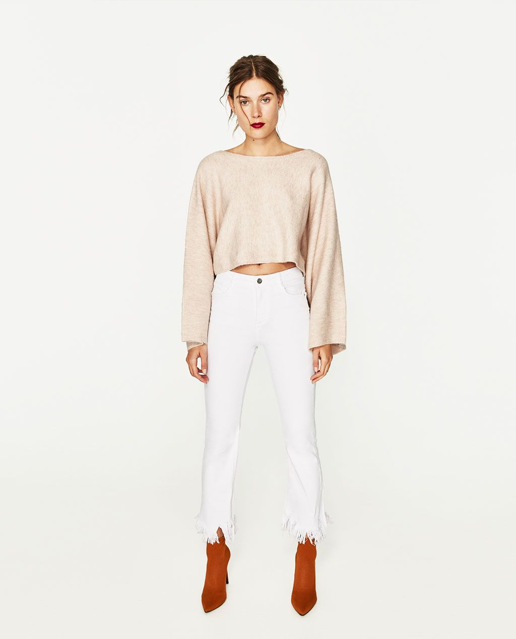 HIGH RISE RELAXED FIT JEANS High Waist JEANS WOMAN | ZARA
