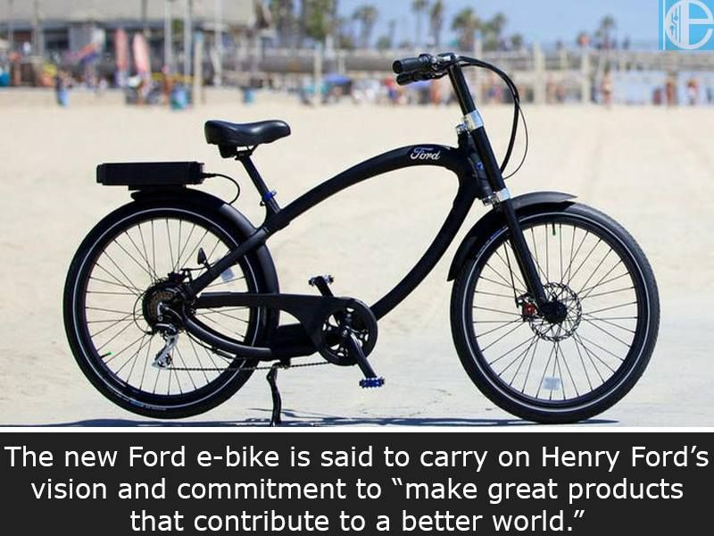 The New Ford E Bike Is Said To Carry On Henry Ford S Vision And Commitment To Make Great Products That Contrib Ford Electric Electric Bike Price Electric Bike