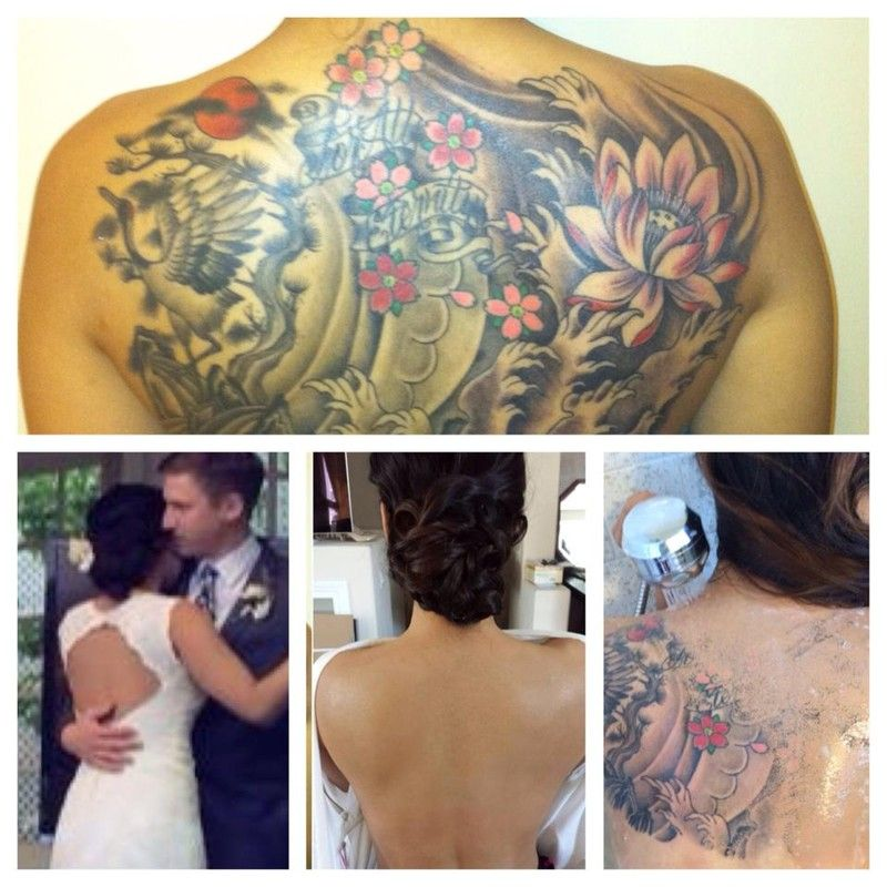 See Tattoo Cover Up & Airbrush Makeup Artist on WeddingWire | I DO ...
