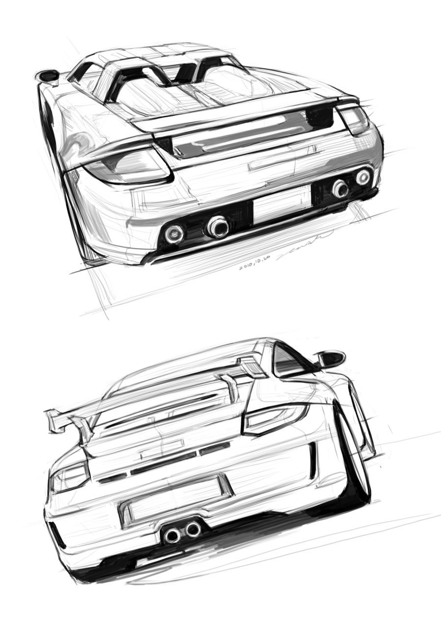 Car+Sketch+Practice+by+darkdamage.deviantart.com+on+@deviantART ...