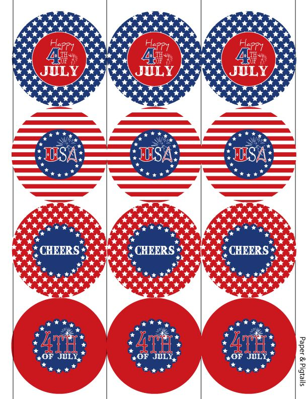 july 4th free printables clip art pinterest 4th of july july rh pinterest com