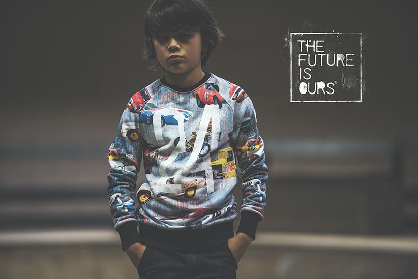 The Future Is Ours Autumn / Winter 2015-2016 campaign | www.littlesahou.com