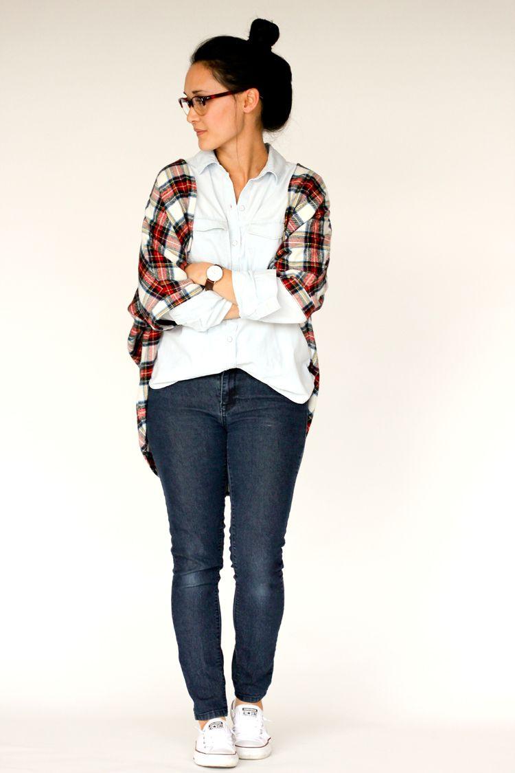 Carrie Cardigan sewing pattern // Delia Creates | Delia Creates ...