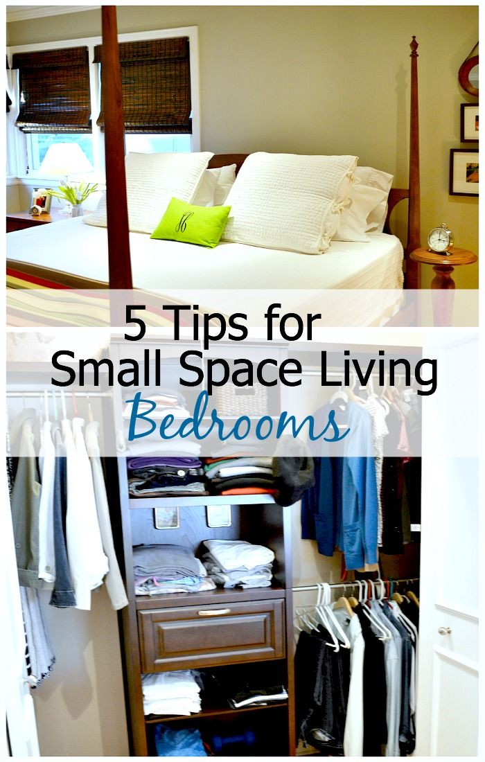 5 Tips for Small Space Living Bedrooms