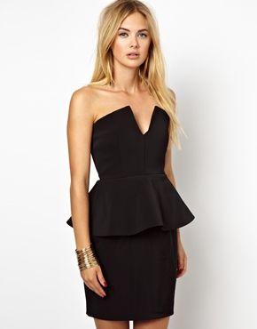Ashwood Dress With Peplum & Internal Corset