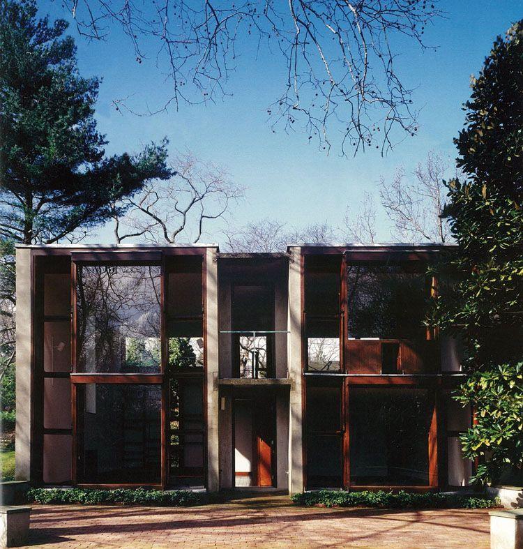 louis kahn esherick house philadelphia pa 1961 modern rh pinterest com