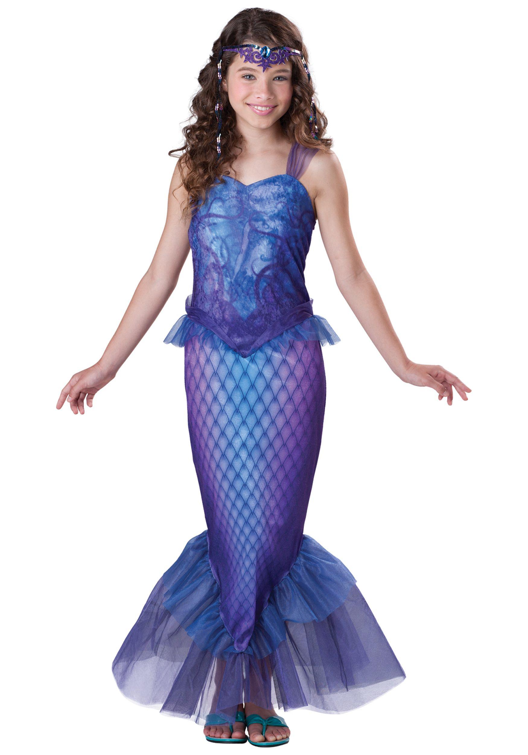 Tween Mysterious Mermaid Costume  sc 1 st  Pinterest & Tween Mysterious Mermaid Costume | Halloween | Pinterest | Tween ...