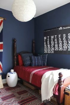navy blue boys bedroom google search house ideas nautical rh pinterest com