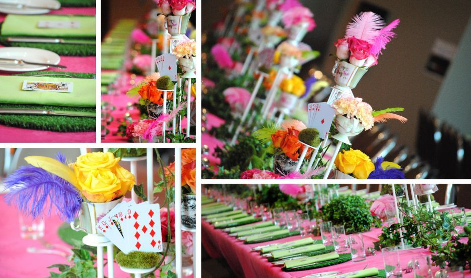 mad hatter teparty invitations pinterest%0A More table decorating ideas  Find this Pin and more on Mad Hatter Tea Party