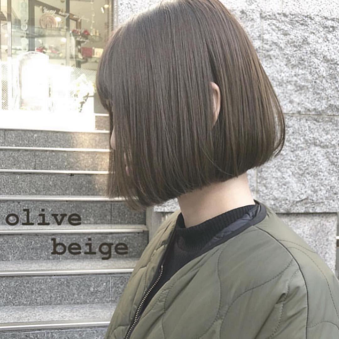 渡部 未来 Shima Daikanyamaさんはinstagramを利用しています 色素薄い女の子の地毛みたいな 透明感たっぷりの オリーブベージュ ずっとオリーブベージュにしてる