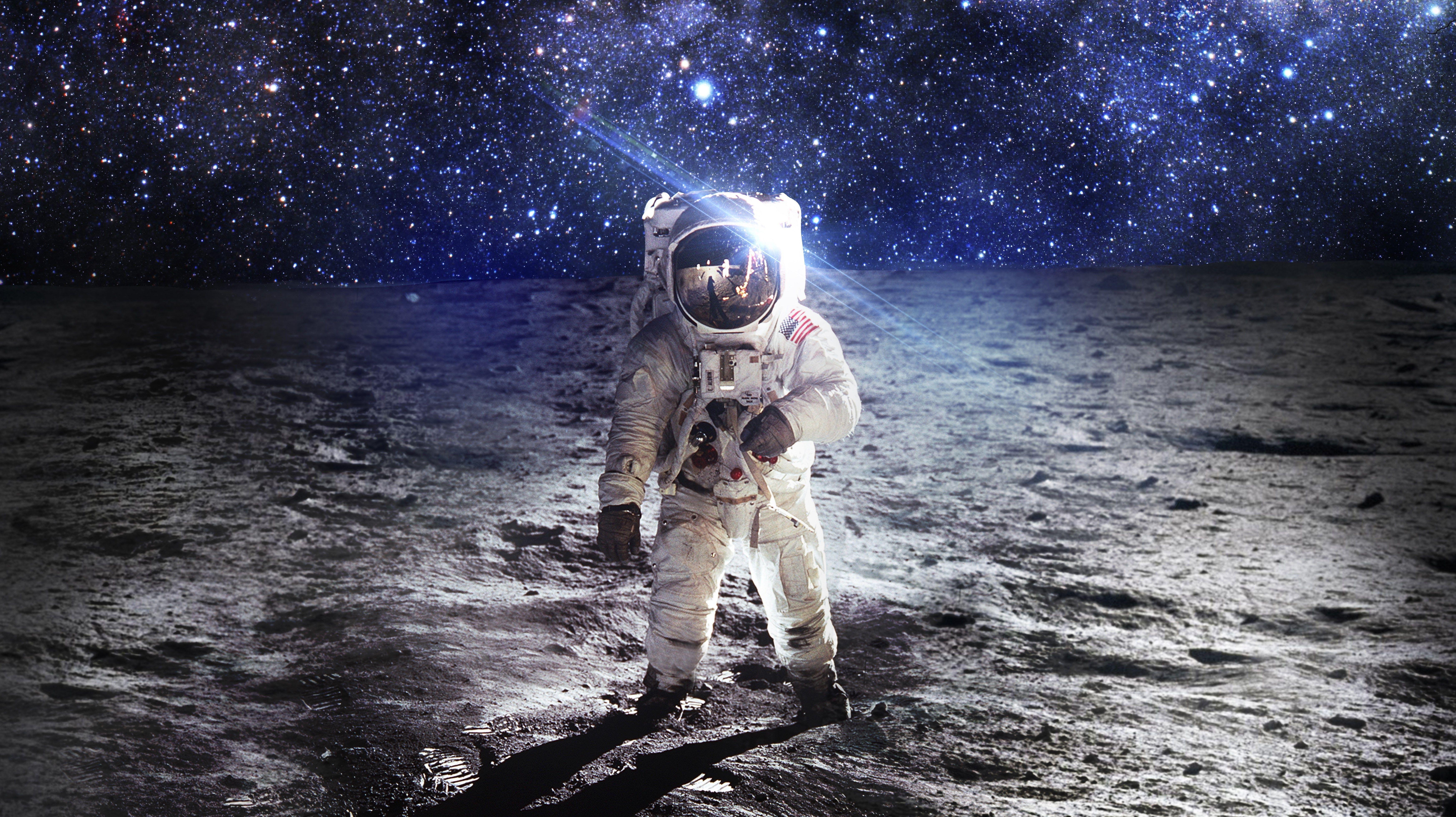 6986x3921 High Resolution Wallpapers Widescreen Astronaut