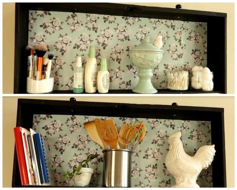 dresser drawer into shelf repurposing shelves dresser drawers rh pinterest com