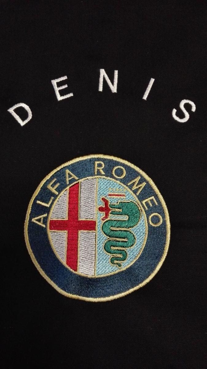 Alfa Romeo Logo machine embroidery design