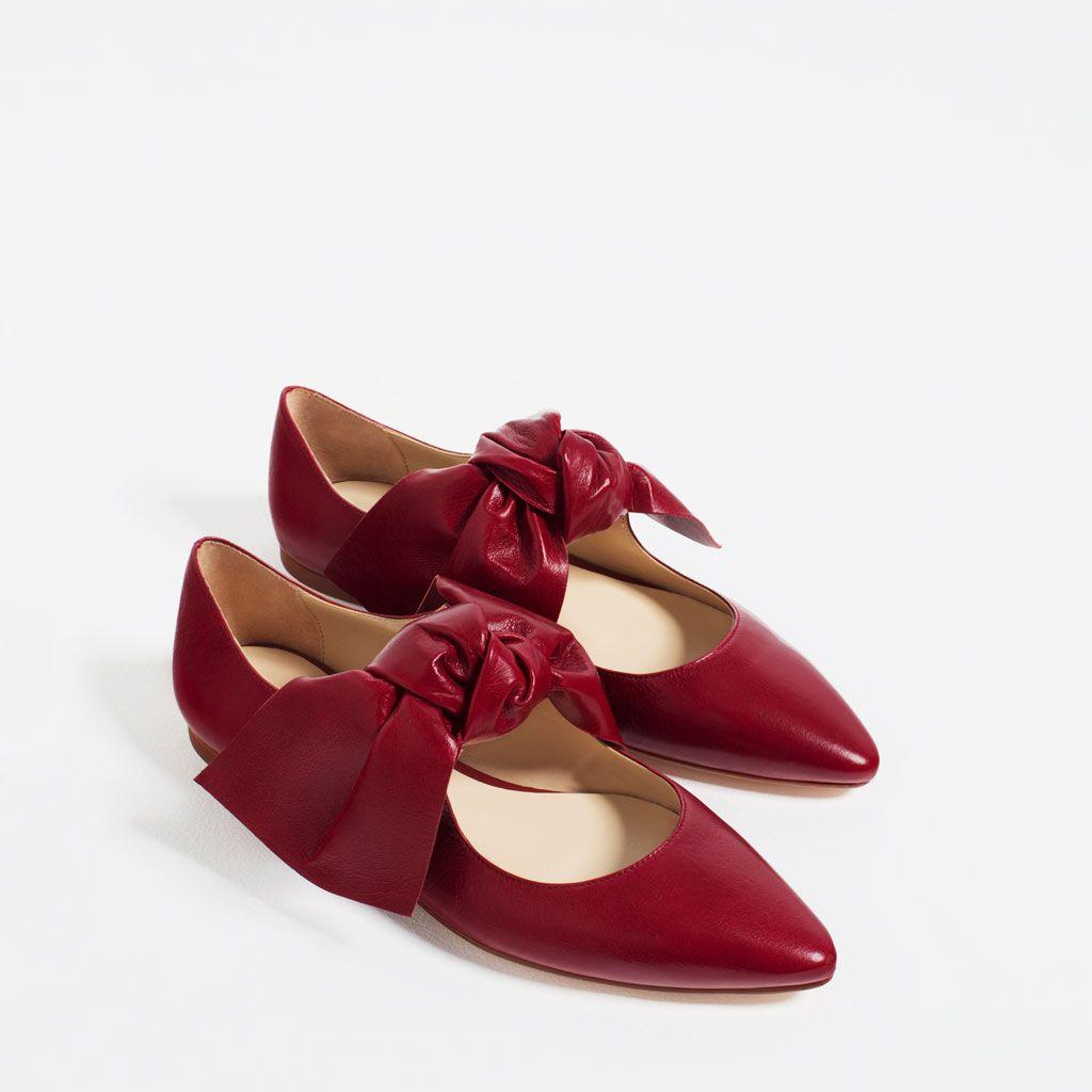 Enzara 2018 2 Zapatos Planos Otoño Invierno Mujer Zara