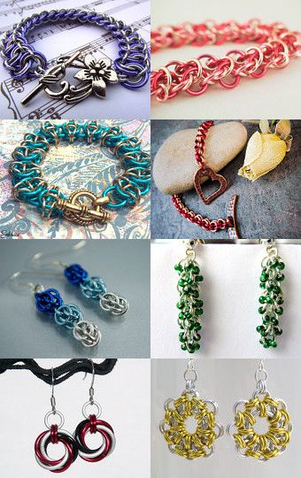 #chainmaille Treasury Pin