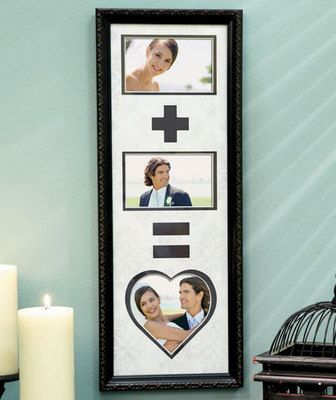 Gift New Husband Wife Collage Photo Frame Great Wedding Shower