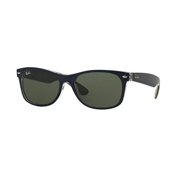 5602d113bae81 Ray-Ban RB2132 New Wayfarer 6188 Sunglasses ( 110) ❤ liked on Polyvore  featuring