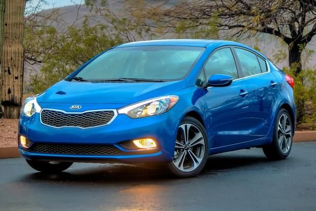 Luxury Vehicle: 2015 Kia Forte - Top 10 Affordable Small Cars