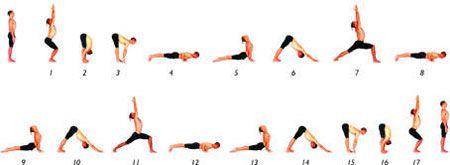 surya namaskar sun salutation b  ashtanga vinyasa yoga
