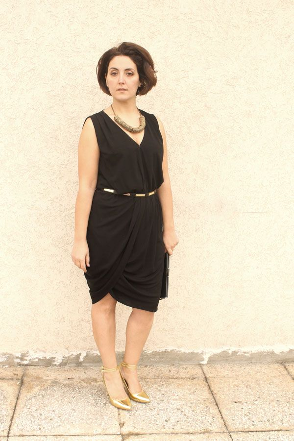 Curvy Fashion Blogger Little Black Dress Curvy Outfit Pc My