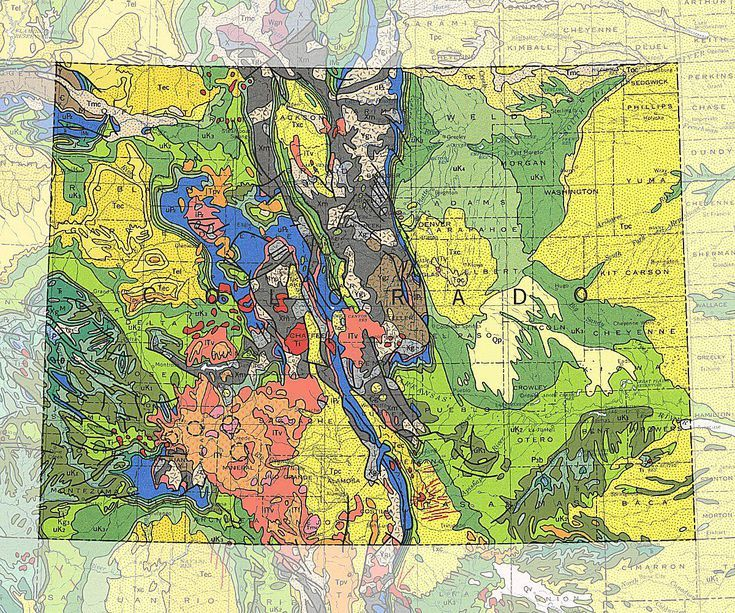 Geologic Maps of the 50 United States | Interesting | Geology, Map ...