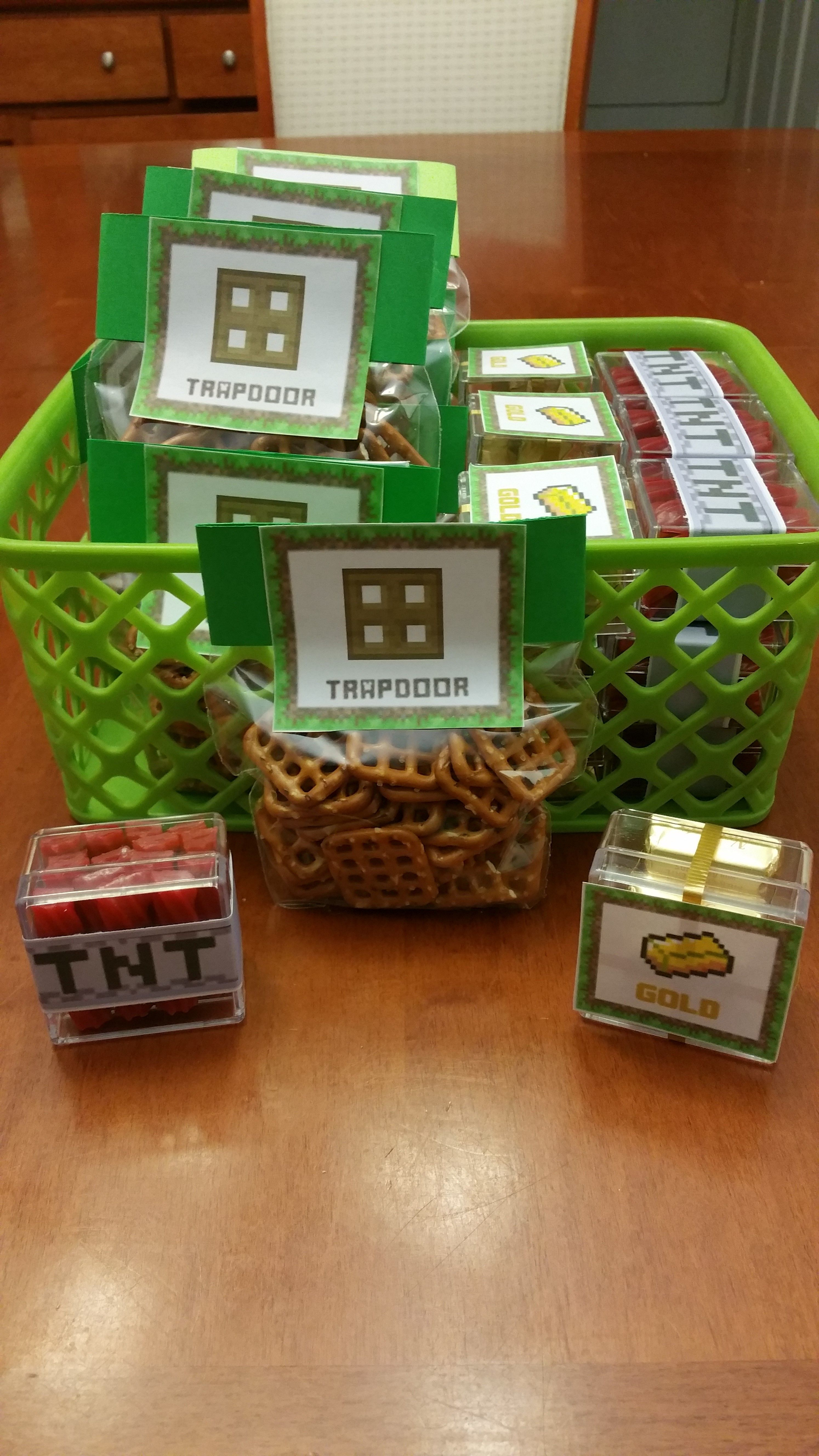 Licorice Tnt, Golden Nuggets, And Trap Doors For Party Favors