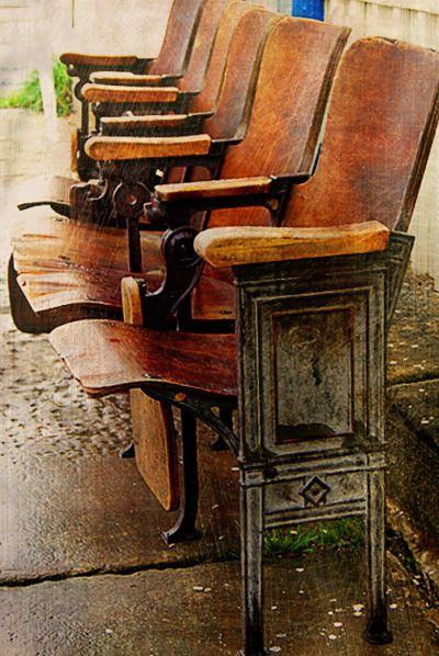 Ann S Snap Edit Scrap Have A Seat Cinema Chairs Vintage