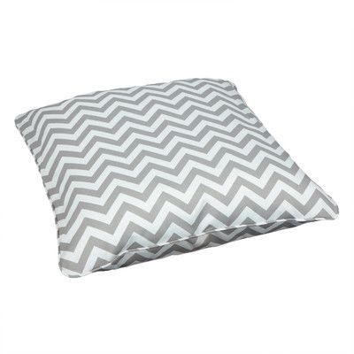 Beachcrest Home Brooker Indoor/Outdoor Euro Pillow Fabric: