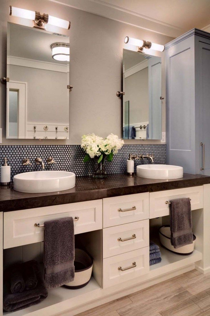 61 Ideas For Bathroom Remodel Double Sink Style Bathroom Vanity Designs Bathroom Vanity Decor Master Bathroom Decor