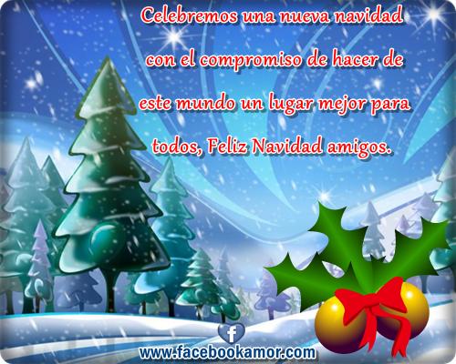 Postales Para Compartir En Facebook | Tarjetas de navidad para ...