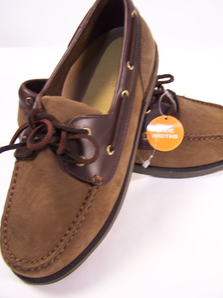 c4b11e9e91 ROCKPORT.PERTH boat shoes in chocolate bark size 7 Wide in Clothing