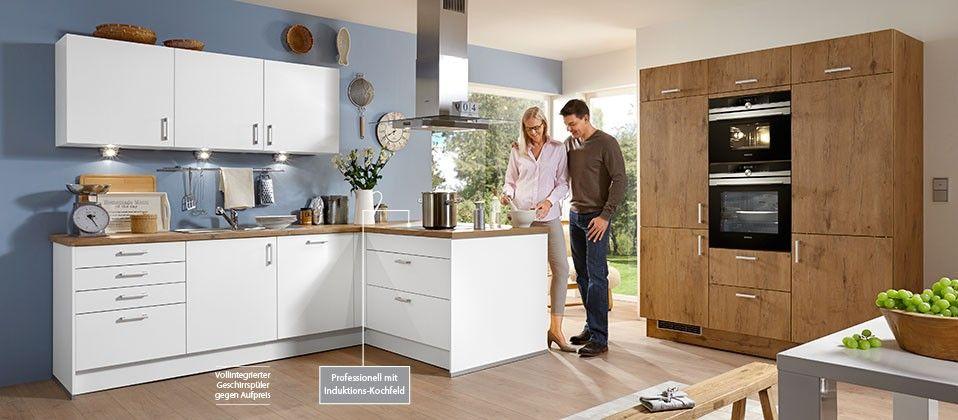 Edition78 - Einbauküche mit wohnlichem Flair Haus der Küchen